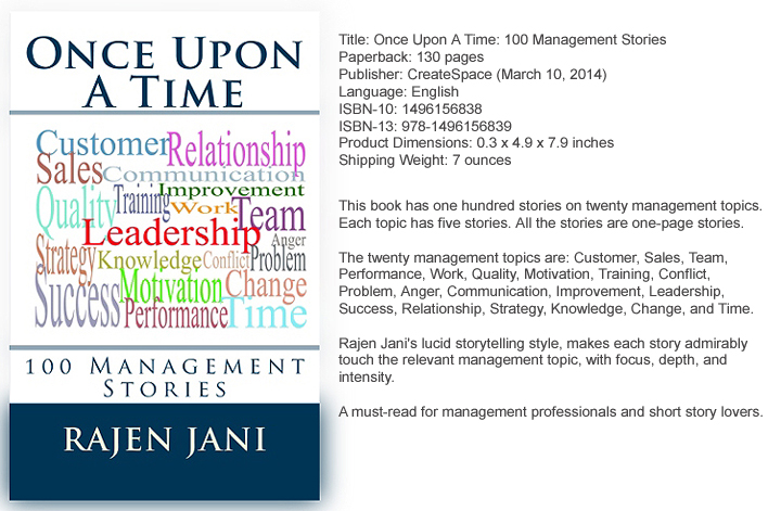Once Upon A Time: 100 Management Stories
