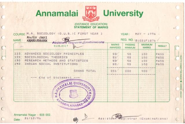 Annamalai_MA(Soc)1stYear_StatementOfMarks