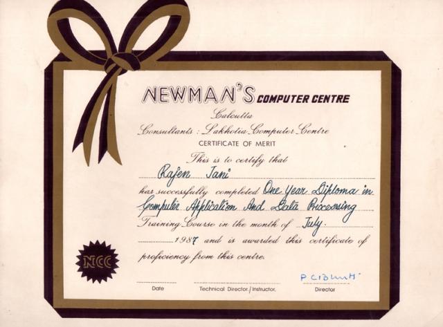 Newmans_DCADP_Diploma